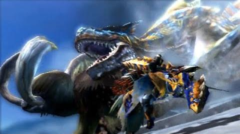 3DS Monster Hunter 4 Ultimate -Tigrex Intro-