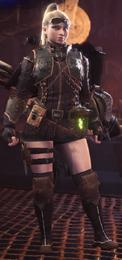 MHW-LeatherBArmorSetF