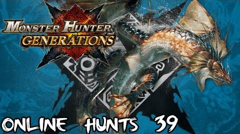 Monster Hunter Generations - Online Hunts 39 Plesioth HR4 Urgent Quests