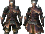 Great Jaggi Armor (Blademaster) (MH3)