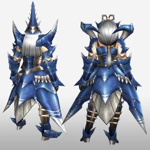 FrontierGen-Torupedo G Armor (Blademaster) (Back) Render