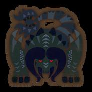 MHW-Black Diablos Icon