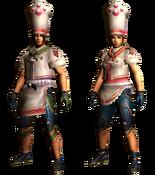 MHGU-Bistro Armor (Both) Render