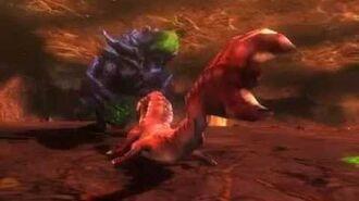 Monster Hunter 3 (Tri) G - Explosive Temper (Brachydios intro)