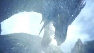 MHW New Monsters Reveal Velkhana, Banbaro, Beotodus, Nargacuga And More - Iceborne Gameplay Trailer-0