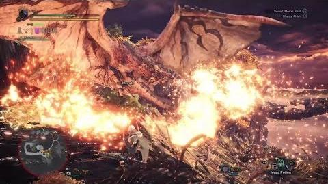 Monster Hunter World Beta - My first Rathalos Kill Charge Blade; Solo (13'25)