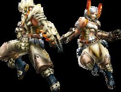 FrontierGen-Barioth Armor (Gunner) (Both) Render 2