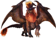 MHW-Teostra Render 001