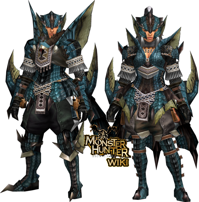 Rathalos Soul Z Armor (Gunner) | Monster Hunter Wiki ...
