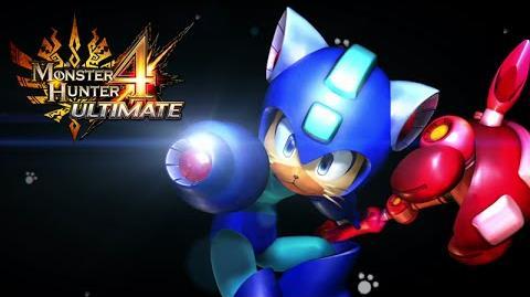 Monster Hunter 4 Ultimate - Mega Man Palico Equipment