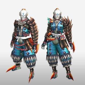 FrontierGen-Tamamo Armor (Gunner) (Front) Render