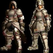 MHGU-Khezu Armor (Blademaster) Render