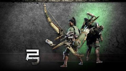 『モンスターハンター:ワールド』武器紹介動画:弓