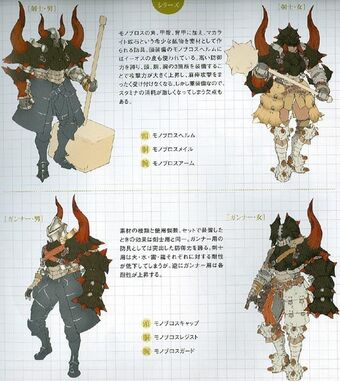 Monoblos Armor Gun Monster Hunter Wiki Fandom