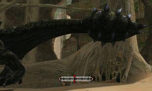 MH4U-Black Diablos Tail Break 001