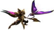 MH4U-Insect Glaive Equipment Render 001