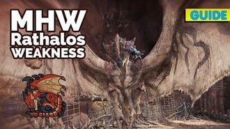 MHW Rathalos Weakness, Location, LR and HR Rewards MHW Rathalos Guide