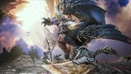 MHW OST Disc 3 The Invading Tyrant - Bazelgeuse