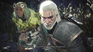 MHWorld x The Witcher 3 Collaboration Taking a first look (Leshen fight + Gajalaka sidequest)