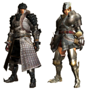 MHGU-Giaprey Armor (Blademaster) Render