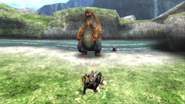 MHP3-Arzuros Screenshot 005