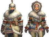MHFU: Low Rank Blademaster Armors
