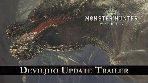 Monster Hunter World - Deviljho Update Trailer