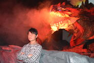 USJ-Black Flame King Rathalos Screenshot 005