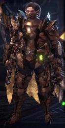 MHWI-RexRoarB+ArmorSet
