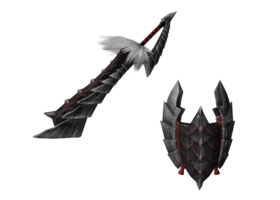 MHO-Sword and Shield Render 090