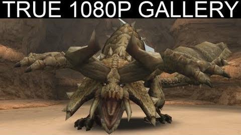 20 - Desert Tyrant 1080p Diablos ディアブロス - Monster Hunter Freedom Unite Gallery MHFU