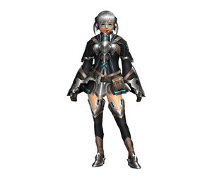 FrontierGen-Bande Armor (Female) (Both) (Front) Render 004
