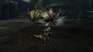 MHP3-Green Nargacuga Screenshot 008