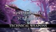 Monster Hunter World Iceborne – Technical Weapons