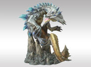 Capcom Figure Builder Creator's Model Ivory Lagiacrus 002