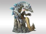 Capcom Figure Builder Creator's Model Ivory Lagiacrus 002