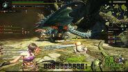 MHO-Azure Rathalos Screenshot 016