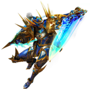 MH4G-Sword and Shield Equipment Render 003