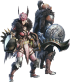 MHW-Sword & Shield Equipment Render 001