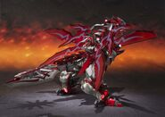 Chogokin-Monster Hunter G Class Henkei Rathalos 009