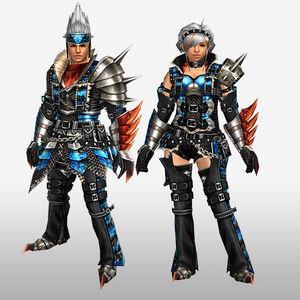 FrontierGen-Anaki Armor (Both) (Front) Render