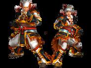 FrontierGen-Mikagura G Armor (Blademaster) Render 2