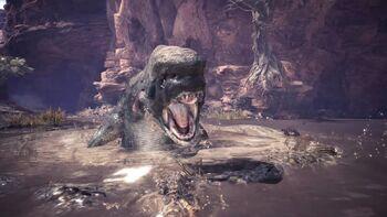 Jyuratodus monster hunter wiki fandom powered by wikia for Piscine wyvern mhw