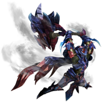MHXX-Hammer Equipment Render 001