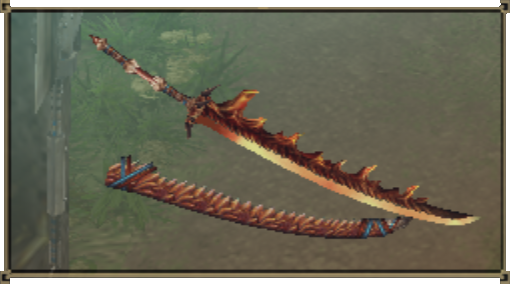 Red Dragonsword MH2