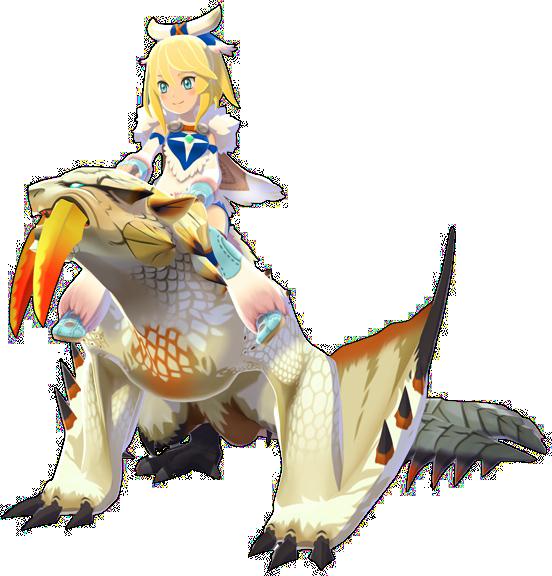 monster hunter stories ride on white dragon