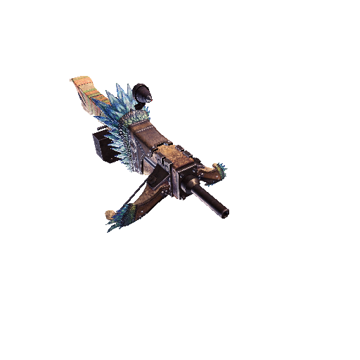 MHW-Heavy Bowgun Render 021
