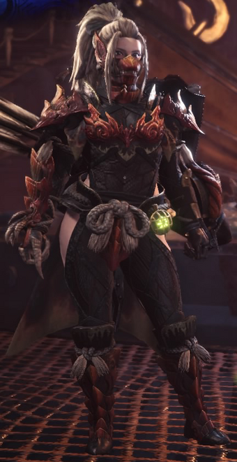 monster hunter world odogaron armor master rank