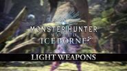 Monster Hunter World Iceborne – Light Weapons