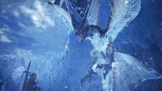Monster Hunter World Iceborne - Shrieking Legiana Boss Fight (Solo Longsword)
